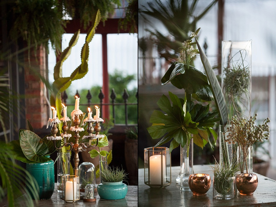 Urban jungle wedding inspiration for Decoration urban jungle